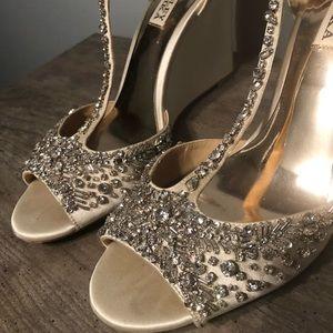 "Badgley Mischka Shoes - Badgley Mischka ""Sarah"" Wedges"